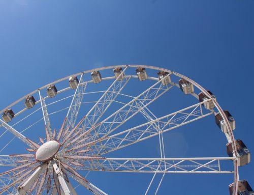 Journée en famille au Luna Park